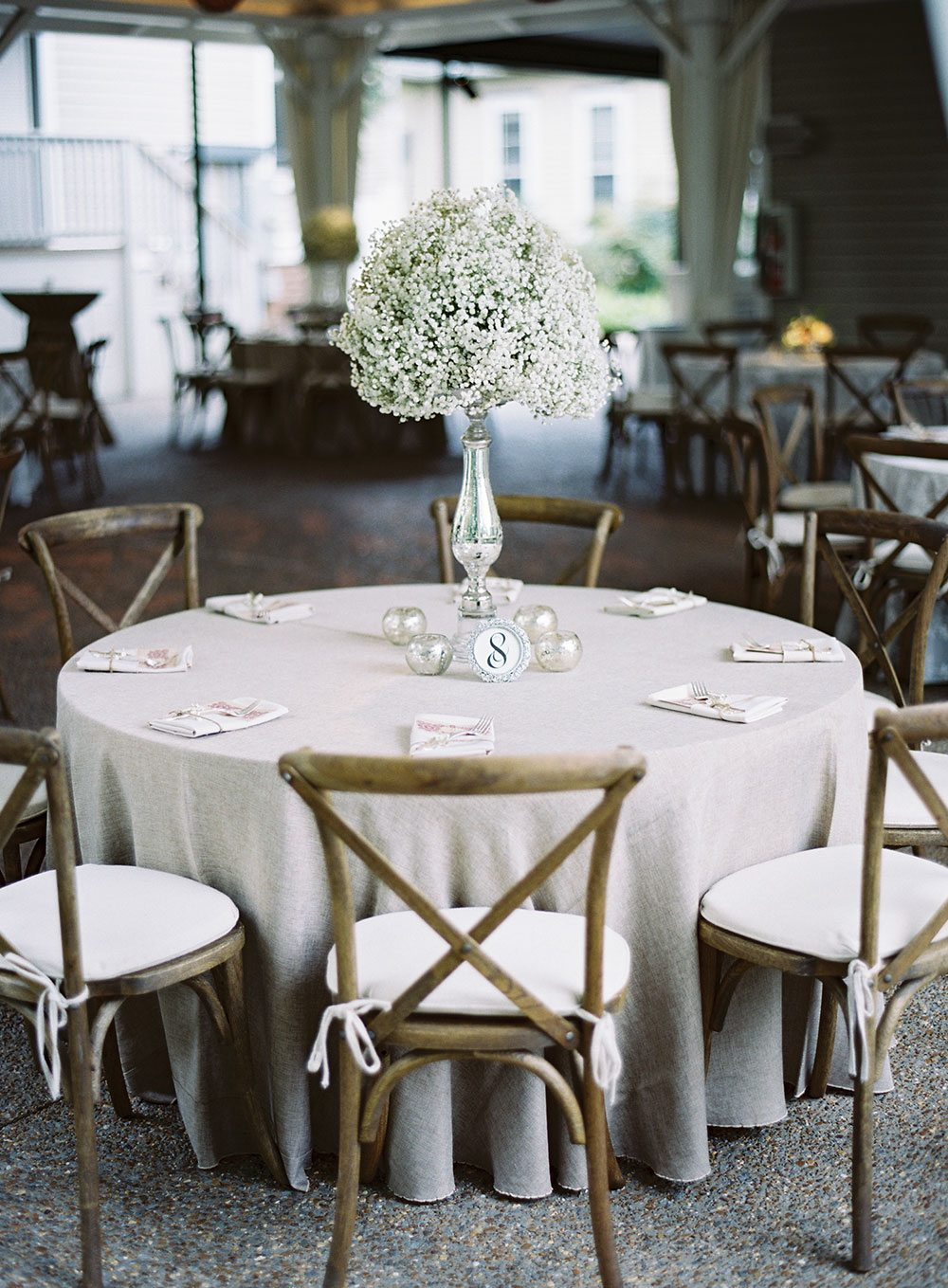Southern Events Party Rental Company White Garden Wedding Rentals