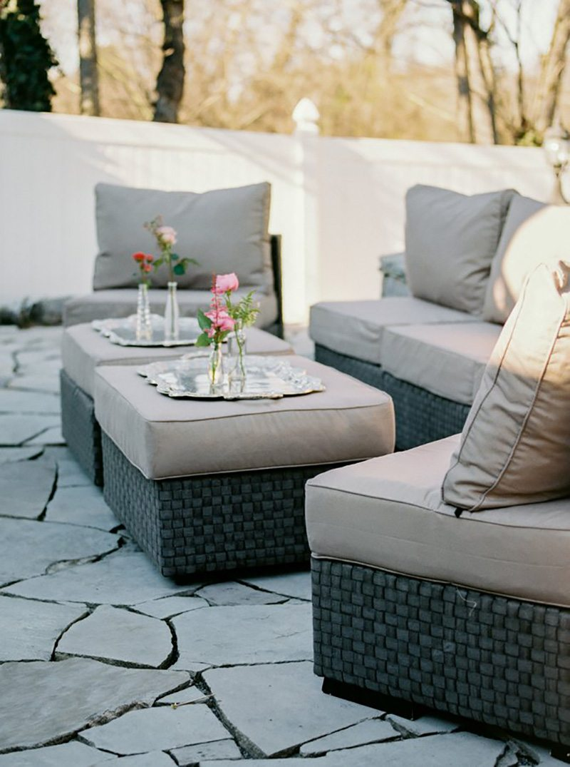 Our most popular outdoor rental  these couches and ottomans convert into  whatever shape works best with your space  Available in two different  colors. Unique Wedding Rentals Archives   Southern Events Party Rental