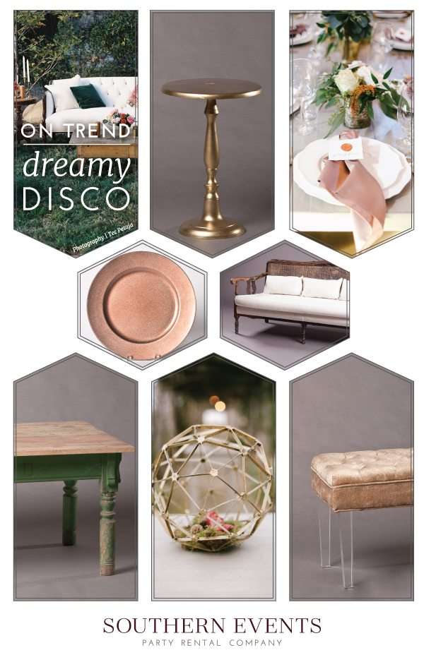 on trend: dreamy disco