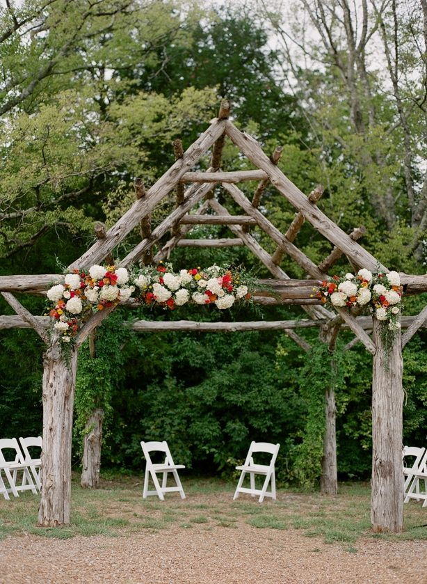 Southern Picnic Farm Wedding in a Barn Nashville TN SouthernEventsOnline.com