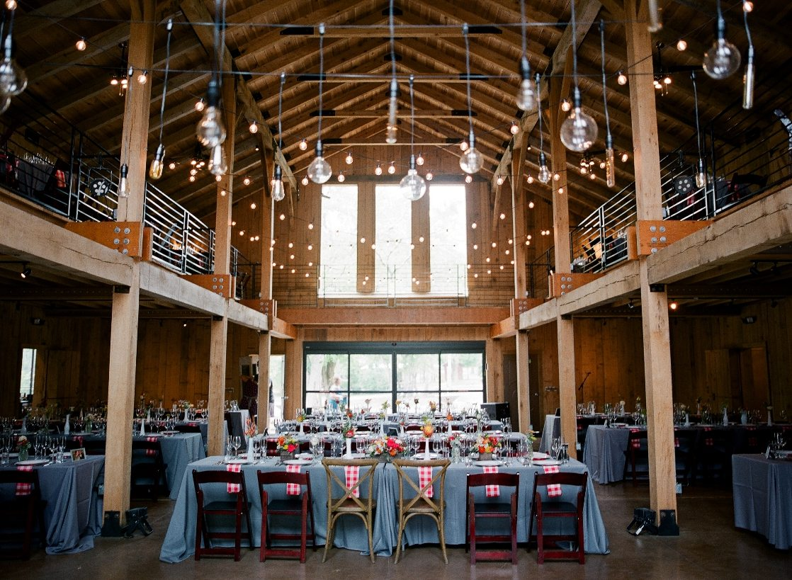 Southern Picnic Farm Wedding in a Barn Nashville TN SouthernEventsOnline.com