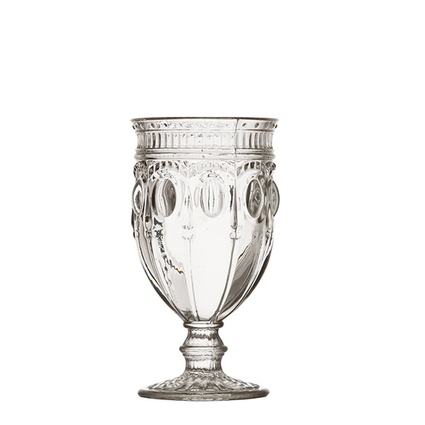Hob Nob Glass Goblet, Glassware, Southern Events Party Rental
