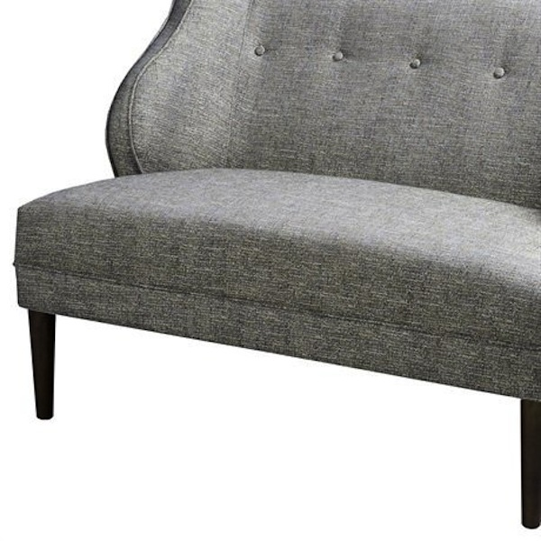 York Loveseat, Navy Tweed Loveseat Southern Events