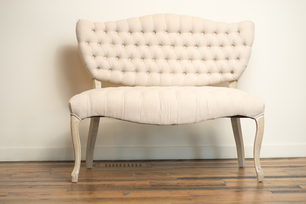 Southern Events Party Rental Company, Tessa Tufted Loveseat-1