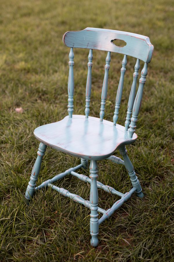 Amanda Chair, Aqua Distressed Vintage Chair, Southern Events Nashville_600_900