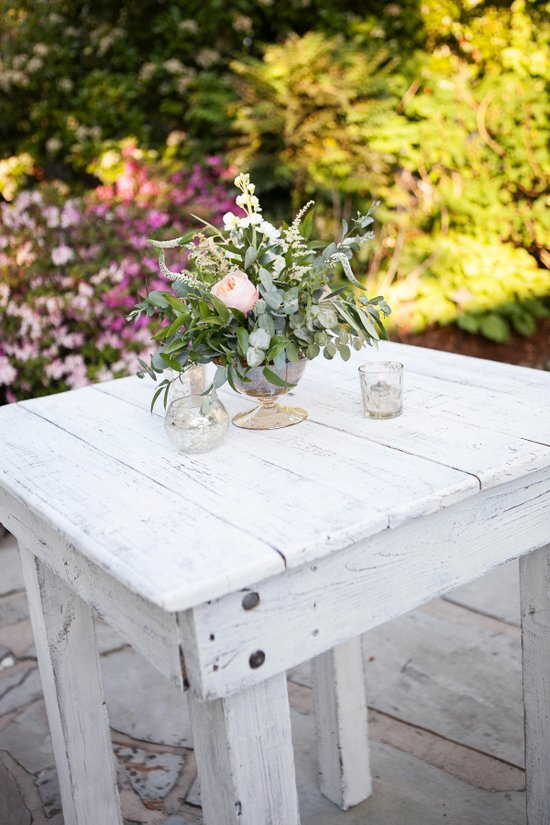 IN STOCK: White Wash Bistro Farm Tables