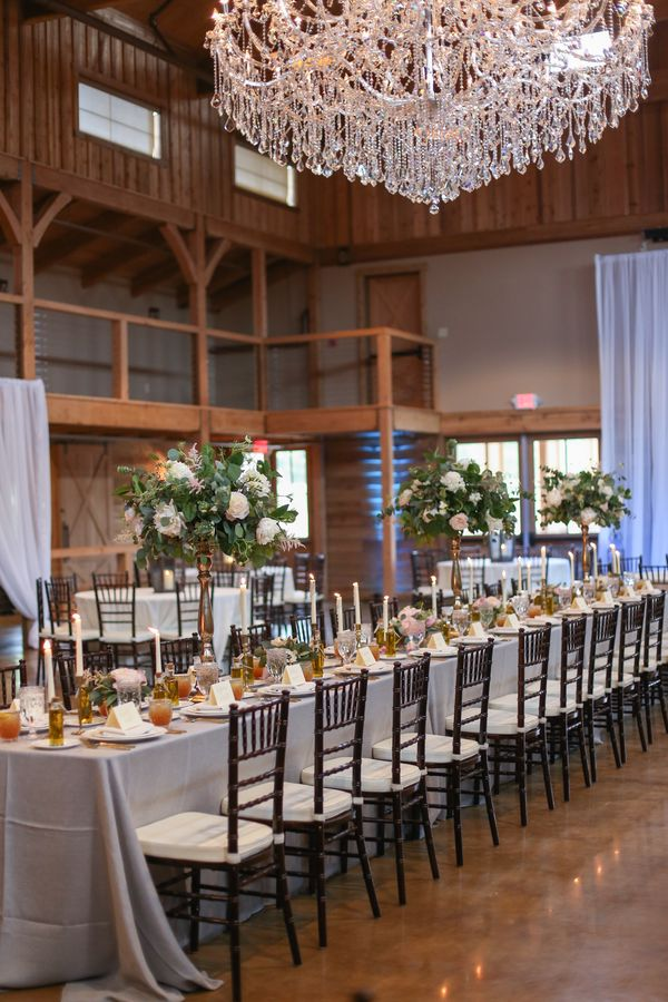 Nashville Wedding Planners Group Sycamore Farms Reception