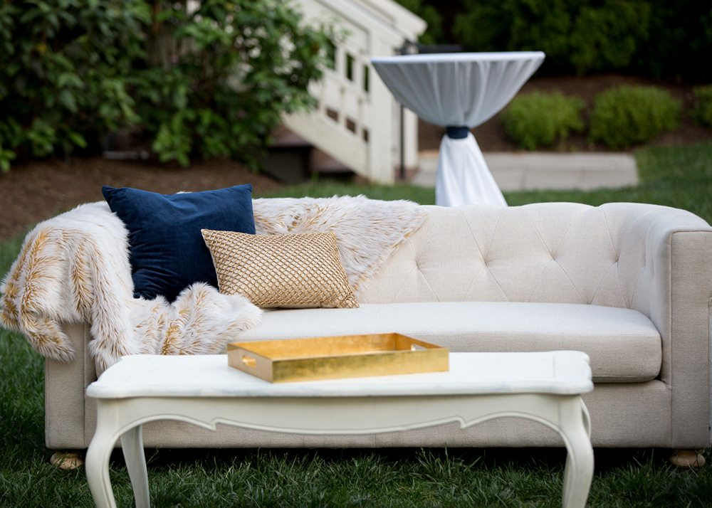 off-white santorini sofa, summer outdoor lounge