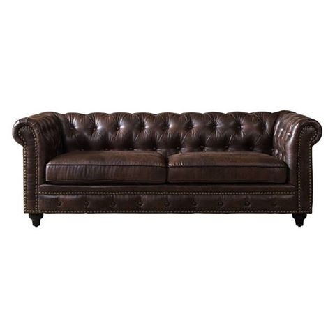 Bennett Leather Sofa conference tradeshow event rentals