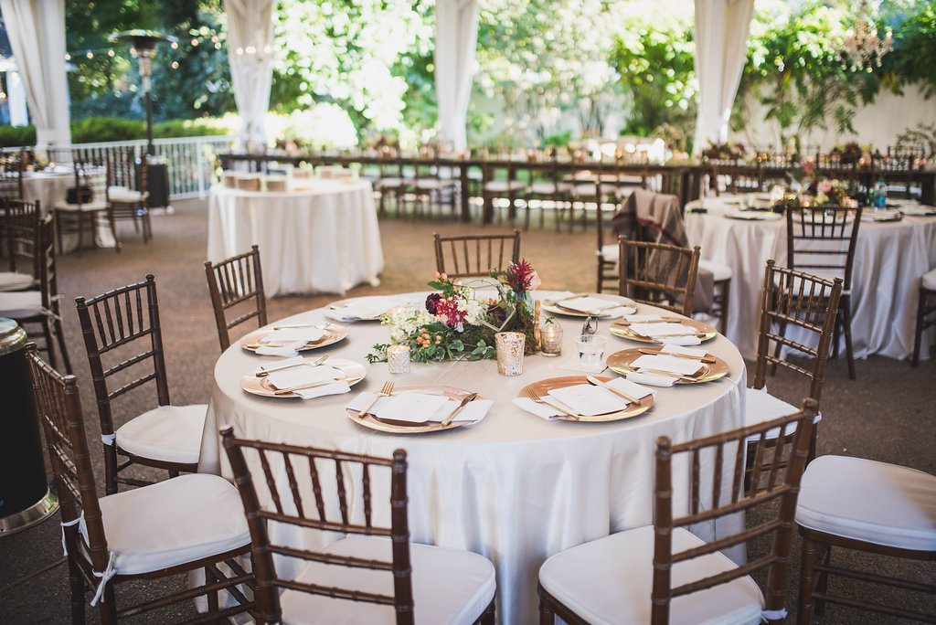 Chic Rose Gold Wedding At Cj S Off The Square Southern