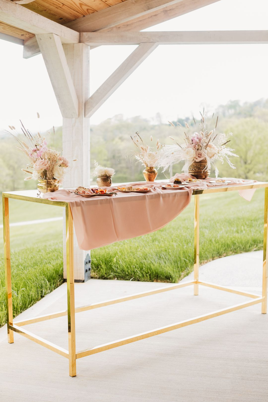 bistro table outdoors