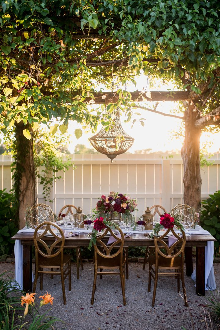 Romantic Garden Delight At Carnton Plantation Southern