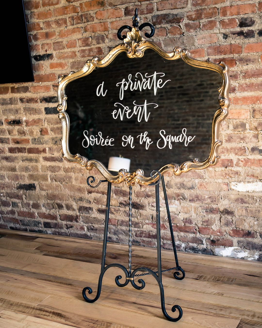 wedding event signage