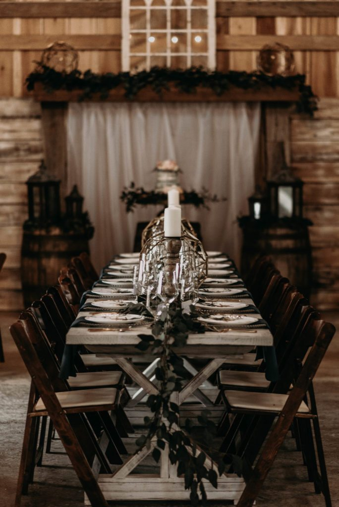 Gothic Rustic Wedding Rentals, Southern Events Nashville TN