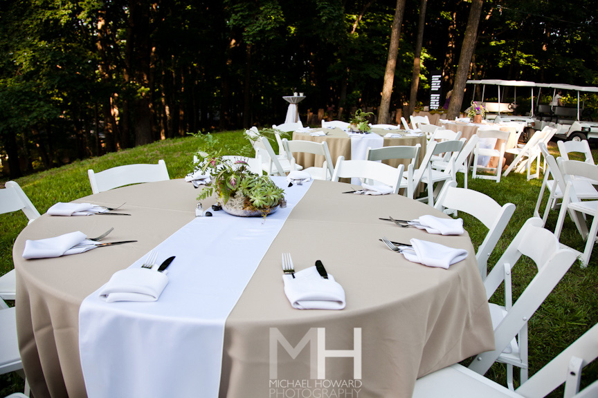 Backyard Wedding Bliss Southern Events Party Rental