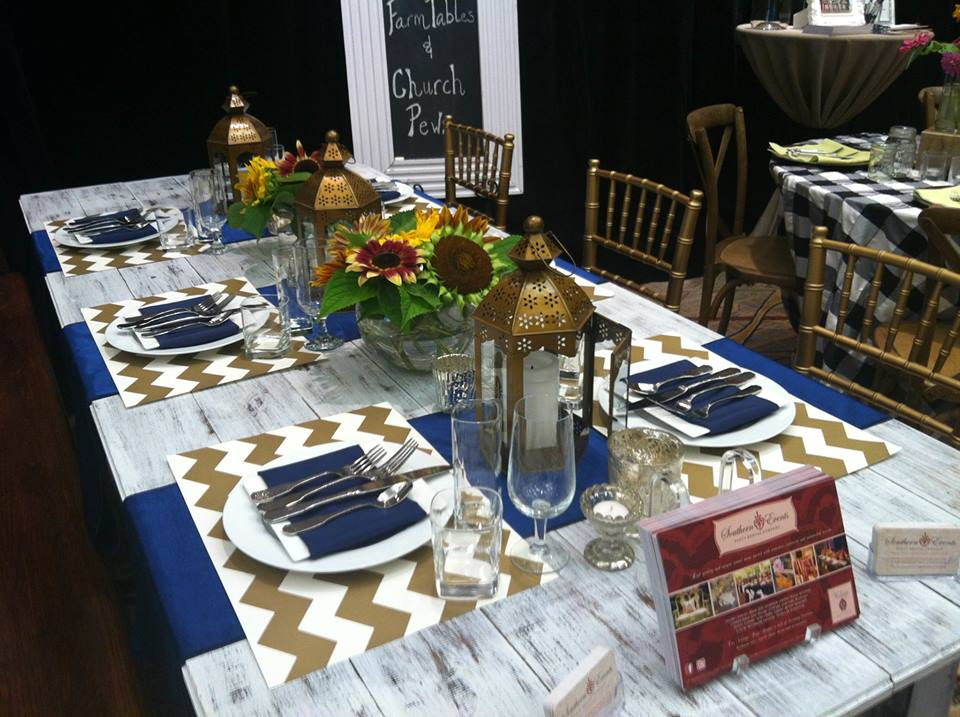 White Wash Farm Tables - Southern Events