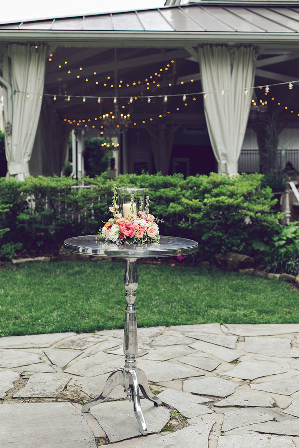 Southern Events, Gold and Coral Table, CJ's Off the Square, Amy Nicole (4)