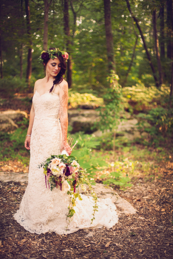 Southern Events, Boho Rustic Wedding Flowers, Krista Lee Photography (10) -