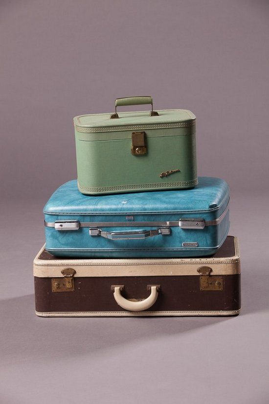 VPS Prop,Asst Vintage Suitcases Southern Events Party Rental Company (2)