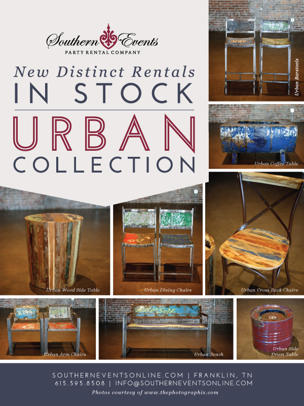 Southern Events, Urban Collection, Lounge Rental Furniture