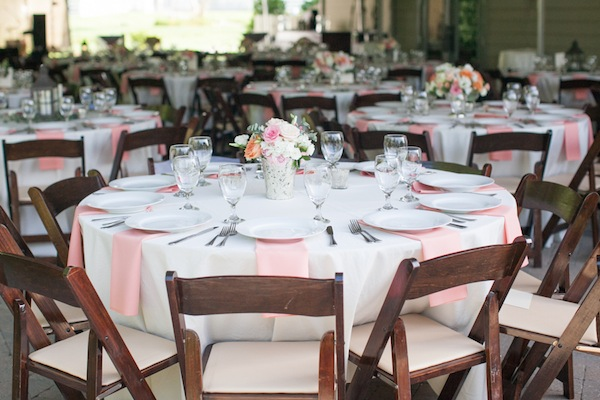Southern Events Party Rental, Coral + White Wedding at Carnton Plantation, Kristin Vanzant Photography-001