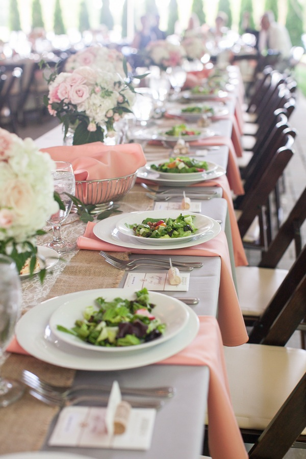 Southern Events Party Rental, Coral + White Wedding at Carnton Plantation, Kristin Vanzant Photography-009
