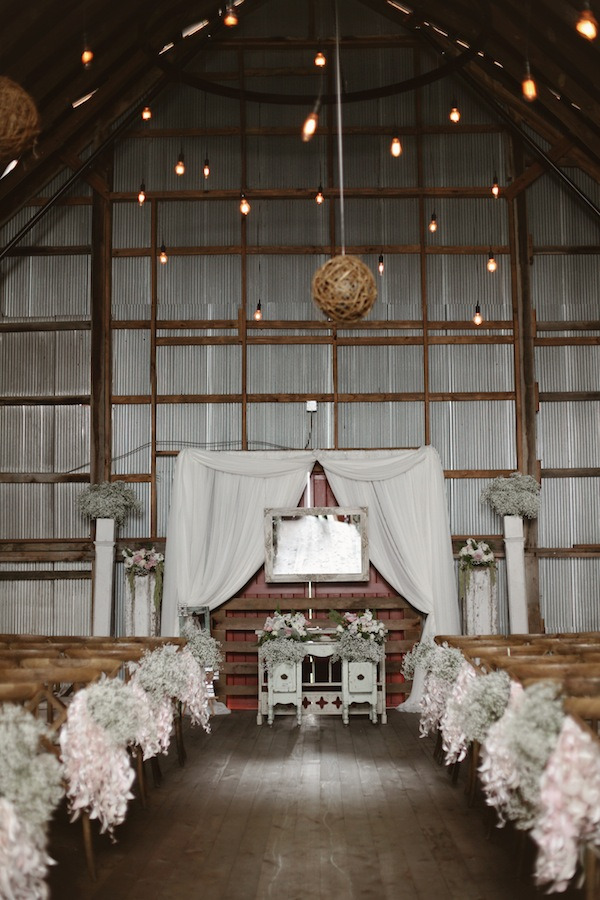 Southern Events, Shabby Chic Barn Wedding Nashvill, Photographix (1)