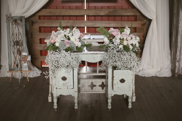 Southern Events, Shabby Chic Barn Wedding Nashvill, Photographix (4)