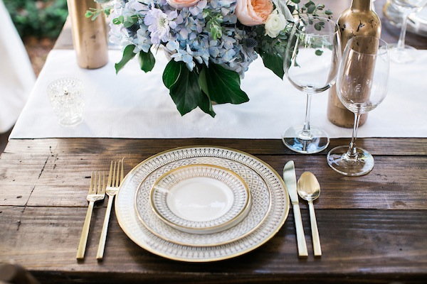 Southern Events Party Rentals, Cjs Off the Square, Hamlet Gold Rimmed China Place Setting, Jen & Chris Creed-0124