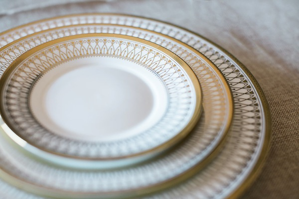 Southern Events Party Rentals, Hamlet Gold Rimmed China, Jen & Chris Creed Photographers-0007