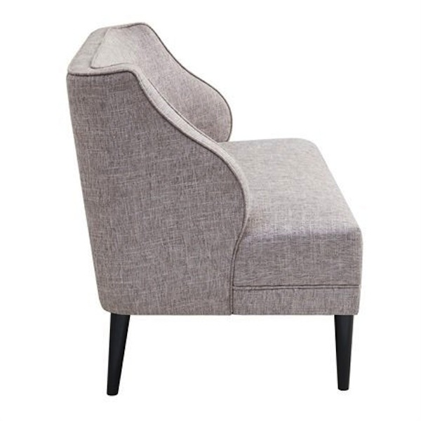 London Loveseat, Gray Tweed Loveseat, Southern Events
