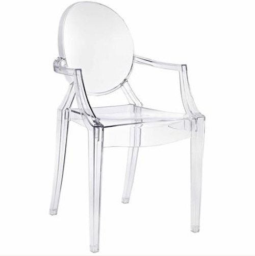 Southern Events Party Rental Company, Ghost Arm Chair, Clear Acrylic Arm Chair