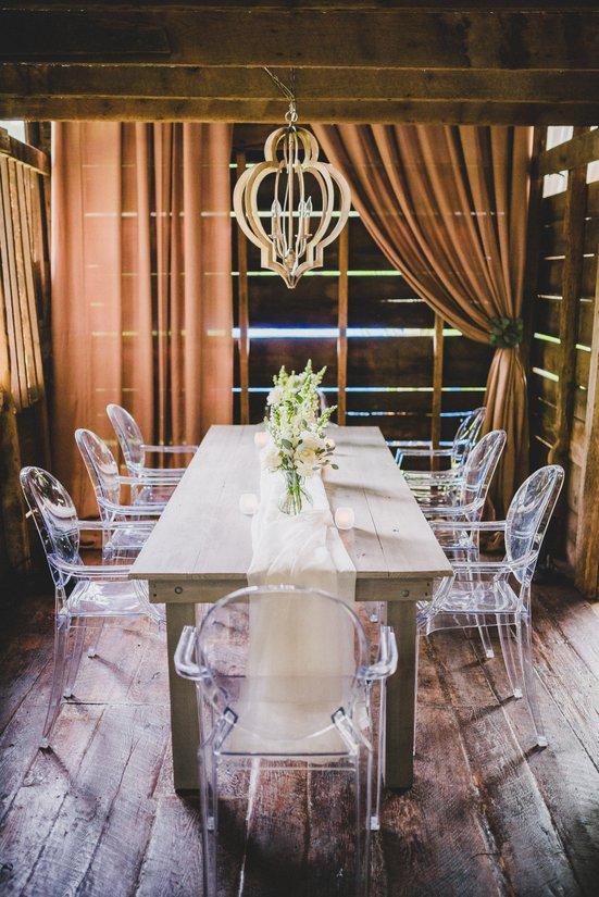 Ghost Chairs, Grayson Farm Table, Details Nashville (1)