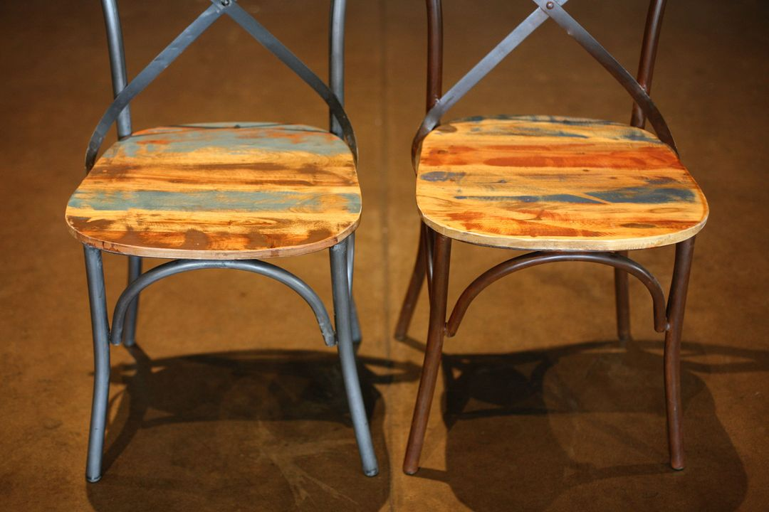 urban cross back chairs