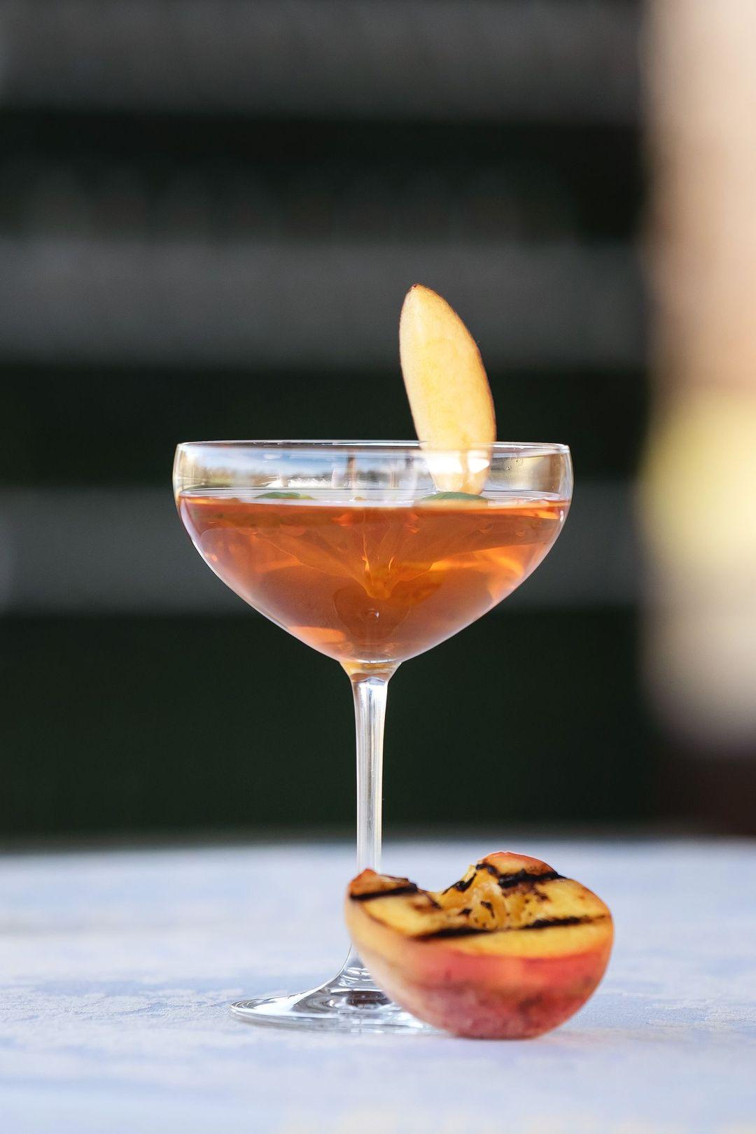 stylish bar glassware for rent
