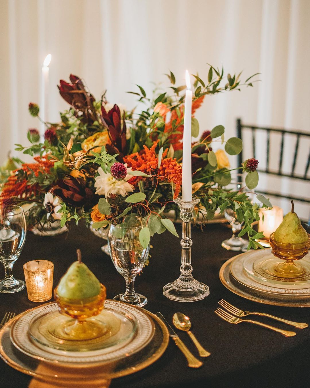 Rosh Hashanah holiday table